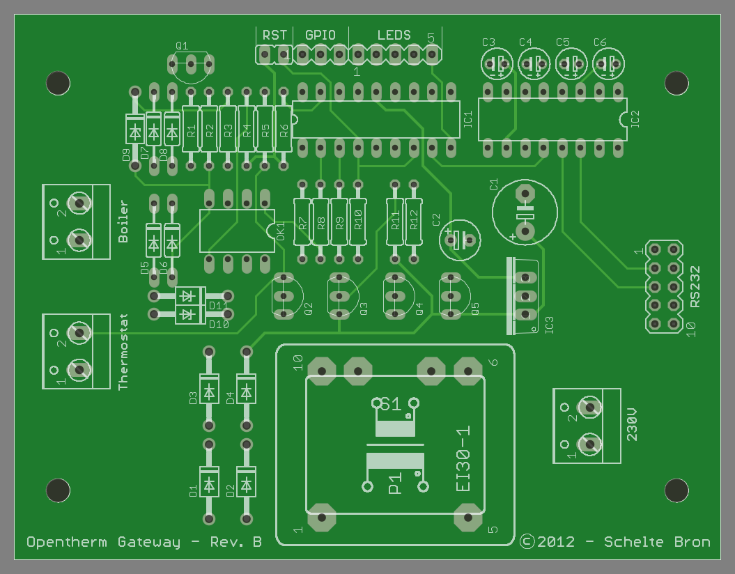 Printed Circuit Board The Finished Boards Here Is A Graphical Representation Of Gerber Files For